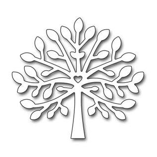 Penny Black Stansning skabelon: ungt træ
