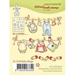 Leane Creatief - Lea'bilities Gennemsigtig stempel: Baby