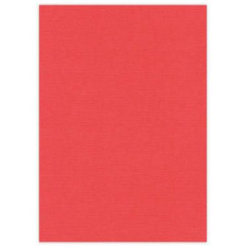 DESIGNER BLÖCKE / DESIGNER PAPER A4 toile carton, 10 feuilles, rouge