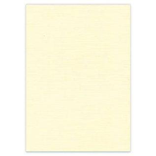 DESIGNER BLÖCKE / DESIGNER PAPER 10 feuilles A4, carton de lin, couleur crème, 240 gr