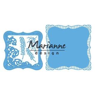 Marianne Design Stanzschablone: Anja's Frilly viereck - Nur noch 1 vorrätig!