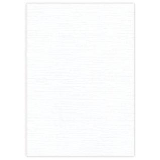 DESIGNER BLÖCKE / DESIGNER PAPER 10 Bogen Leinen Karton 240 GSM, weiss