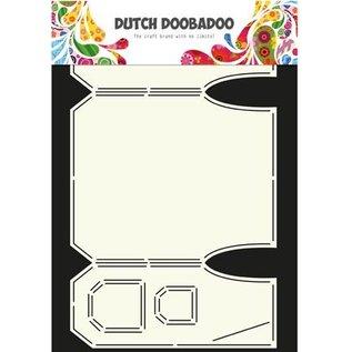 Dutch DooBaDoo Kunstschablone für Kartendesign