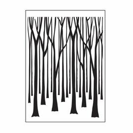 DARICE Estampagem pastas, árvores
