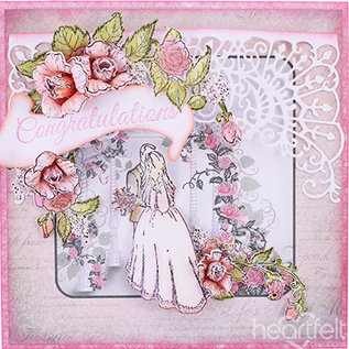 Heartfelt Creations aus USA den nyeste kollektion af inderlig produktioner:! CLASSIC WEDDING