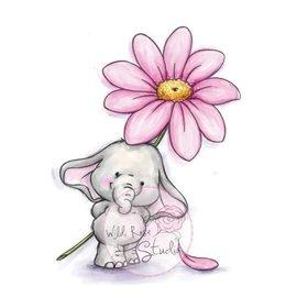 Wild Rose Studio`s selo A7 definir Bella com Daisy