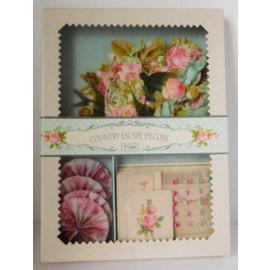 Stempel / Stamp: Transparent Land Escype Decore Dekorationer / Dekorationer