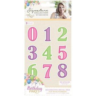 Die'sire Stamping stencils: Numbers
