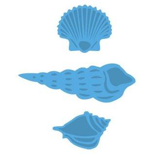 Marianne Design Stansning skabelon: muslingeskaller