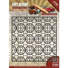 AMY DESIGN AMY DESIGN, Stamping stencils, fundo vintage