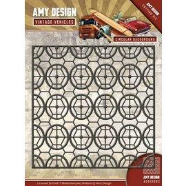 AMY DESIGN AMY DESIGN, Stamping stencils, vintage background
