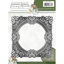 Precious Marieke matrices de découpe, cadre décoratif floral