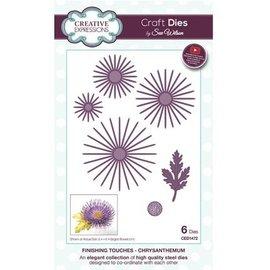CREATIVE EXPRESSIONS und COUTURE CREATIONS Punzonatura giga: Crisantemo