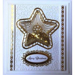 CREATIVE EXPRESSIONS und COUTURE CREATIONS Stansning skabelon: Stjerne