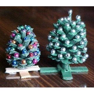Holz, MDF, Pappe, Objekten zum Dekorieren 25 perles en bois
