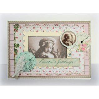 Karten und Scrapbooking Papier, Papier blöcke Designer Block, Vintage