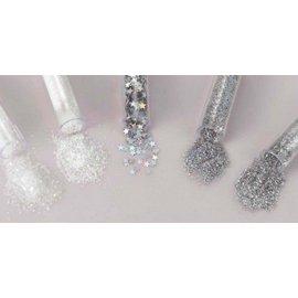 BASTELZUBEHÖR, WERKZEUG UND AUFBEWAHRUNG Glitter & tinsel set with 5 vials