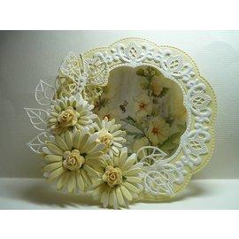 Marianne Design template perfuração: Anja Jogo da flor
