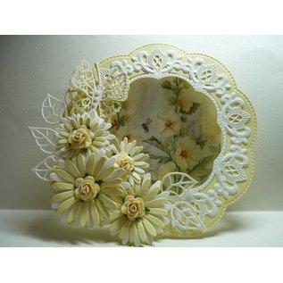 Marianne Design Stansning skabelon: Anjas Flower sæt