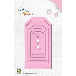 Nellie Snellen Stamping template: Labels