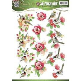 Bilder, 3D Bilder und ausgestanzte Teile usw... Cutting dies: Garden Classics