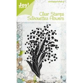 Stempel / Stamp: Transparent Klar Stamp, Transparent stempel: Blomster
