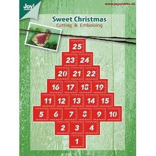 Joy!Crafts / Hobby Solutions Dies Stanzschablone: Mery's Advent Calender - sehr beliebt, Zugreifen bis der Vorrat reicht!