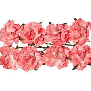 BLUMEN (MINI) UND ACCESOIRES Papier Blümchen: Rosa, Pink
