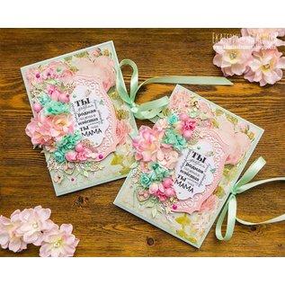 BLUMEN (MINI) UND ACCESOIRES Papir blomster: Pink, Pink