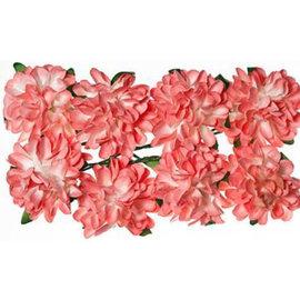 BLUMEN (MINI) UND ACCESOIRES Paper flowers: Pink