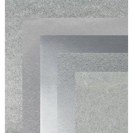 BASTELZUBEHÖR, WERKZEUG UND AUFBEWAHRUNG De papel, 15,0 x 15,0 cm, metálicos de prata texturas