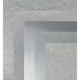 BASTELZUBEHÖR, WERKZEUG UND AUFBEWAHRUNG Papier, 15,0 x 15,0 cm, Silber Metallics textures