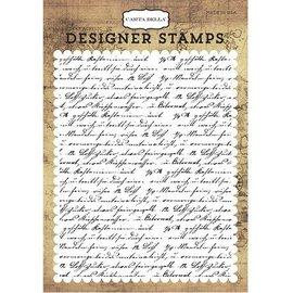 Stempel / Stamp: Transparent Clear Stamps: Font, transatlantiske Rejser