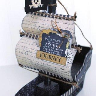 Stempel / Stamp: Transparent Timbres claires: police, Voyage transatlantique