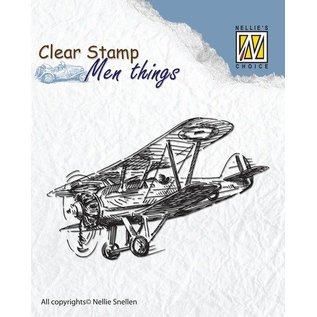 Stempel / Stamp: Transparent Klar stempel: Aircraft