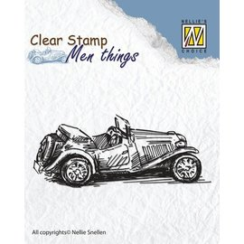 Stempel / Stamp: Transparent Timbres claires: Old Timer