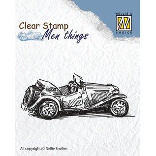 Stempel / Stamp: Transparent Clear Stamps: Gammelt Timer