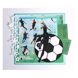 Joy!Crafts / Jeanine´s Art, Hobby Solutions Dies /  Stamping template: Footballer