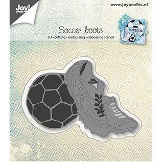 Joy!Crafts / Hobby Solutions Dies Stanzschablone: Fussballschuhe