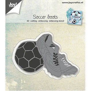 Joy!Crafts / Jeanine´s Art, Hobby Solutions Dies /  Modèle de poinçonnage: Chaussures de football