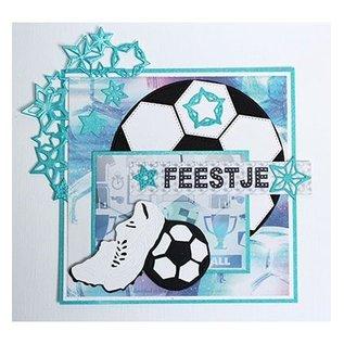 Joy!Crafts / Jeanine´s Art, Hobby Solutions Dies /  Stanzschablone: Fussballschuhe