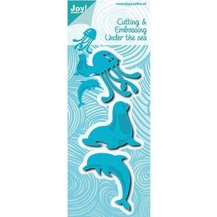 Joy!Crafts / Hobby Solutions Dies Stanzschablonen: Seehund, Dolfine und Kwalle