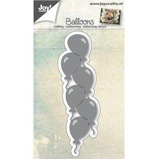Joy!Crafts / Hobby Solutions Dies Snij sjabloon: rand met ballonnen