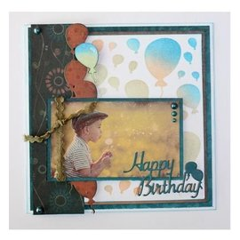 Joy!Crafts / Hobby Solutions Dies Stamping template: border with balloons