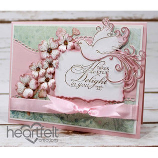 Heartfelt Creations aus USA Begrænset Edition! Dybtfølt Kollektion: Blomstrende Dogwood & Doves