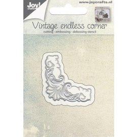 Joy!Crafts / Hobby Solutions Dies Stansning skabelon: Vintage hjørne