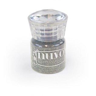 BASTELZUBEHÖR, WERKZEUG UND AUFBEWAHRUNG Glitter Embossing Pulver, silber 22 ml!