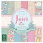 Stempel / Stamp: Transparent Couture Du Jour - Scrapbookingpapier 15,2 x 15,2 cm, 72 Blatt