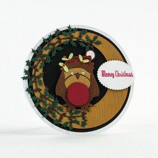 Tonic Stansning skabelon: Wreath