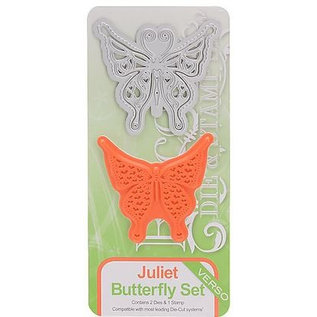 Tonic Stamping template and stamp: Butterfly Felicity